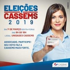 Sinsap convida servidores para eleições na  Cassems hoje