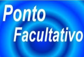 PONTO FACULTATIVO - 08 DE JUNHO (SEXTA-FEIRA)