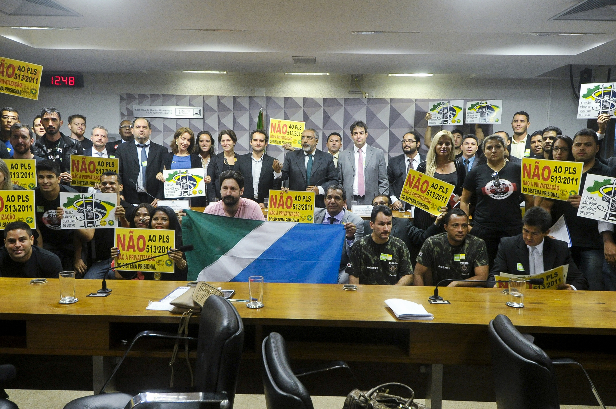 Projeto de privatização é rejeitado pela CDH em Brasília