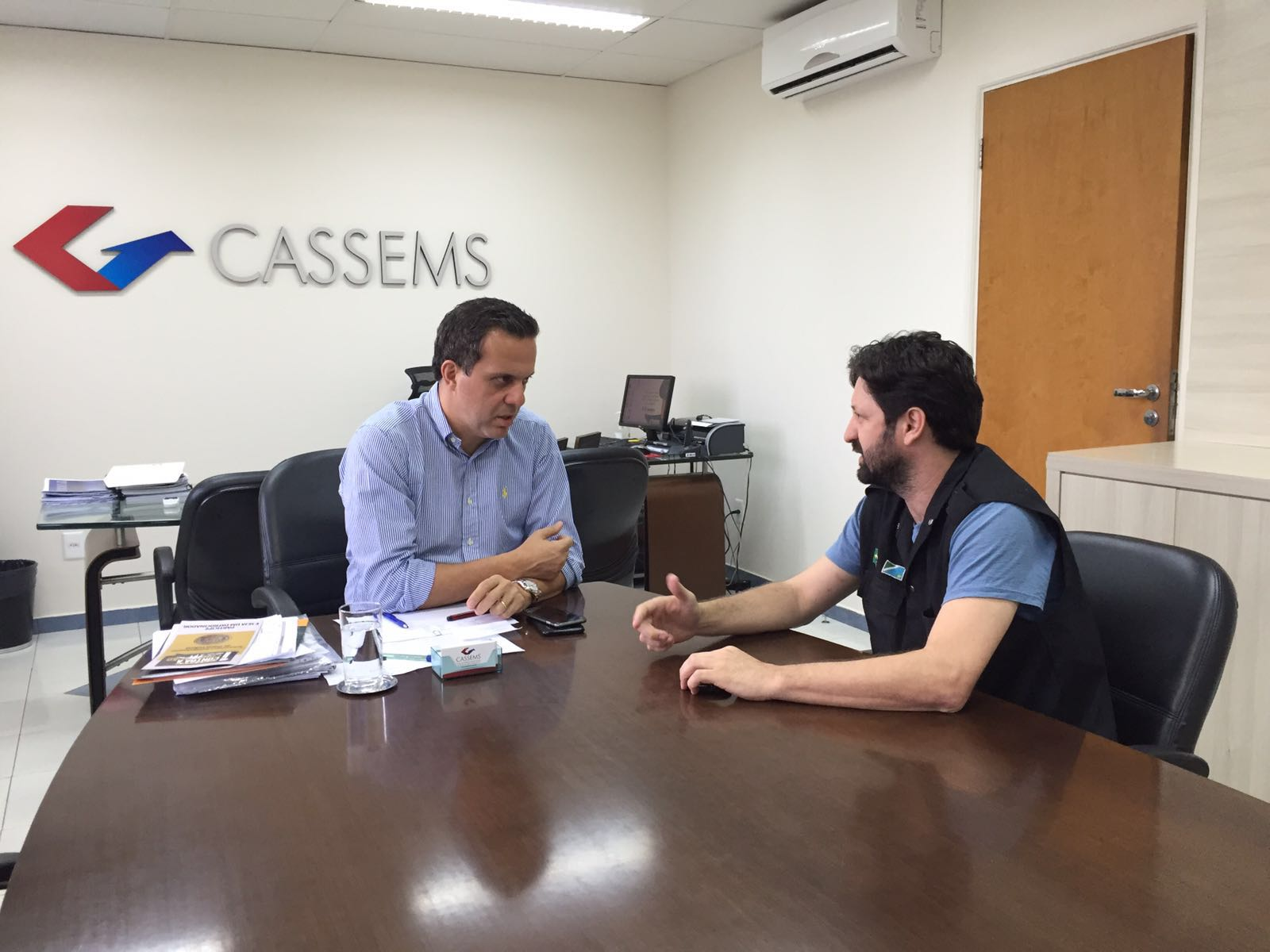 Sinsap/MS firma parceria com Cassems para agilizar exames para curso de Intervenção