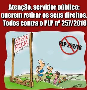 Sindicato mobiliza servidores para ir á Brasília em manifesto contra a PLP 257