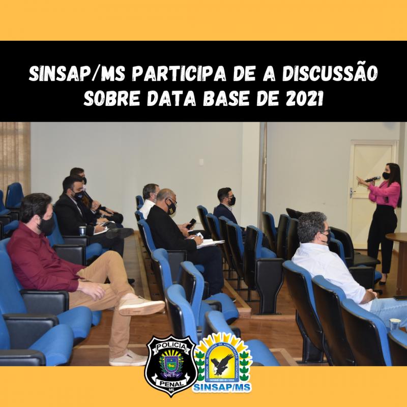 Sinsap/MS participa de discussão sobre Data Base de 2021
