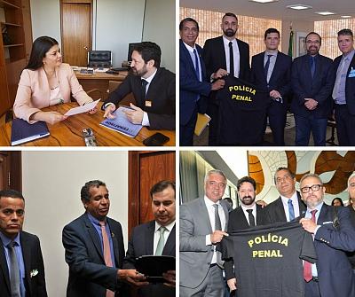 Proposta que cria Polícia Penal deve ser votada no próximo dia 18 em Brasília